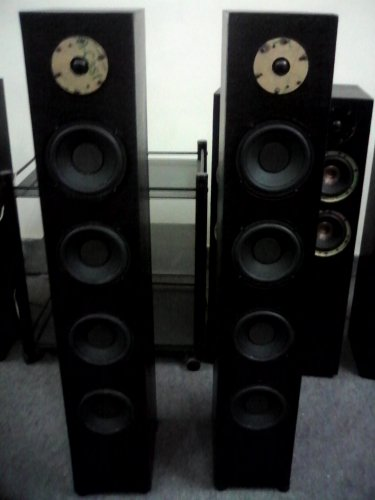 "Rs 20000 1"" Tweeter 6"" Woofer x 4 300 Watts RMS Tower Speaker"