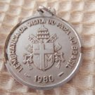 Johannes Paulus Pope Virgin Mary 1980 Brazil Holy Medal