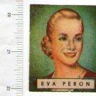 Vintage Evita  Eva Peron Partisan Childhood Picture Card