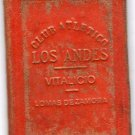 Argentina Los Andes Club ID Card Document NOT PASSPORT DEFUNCT Circa 1940