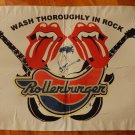 Rollerburger Rock Designer Art Poster 14 x 19 inches