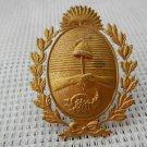 VINTAGE Argentina San Juan Province Police Hat  Badge Shield