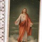 Argentina Jesus Christ  Holy Card  Print Postcard w Pray in Spanish