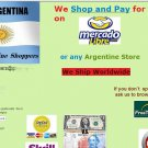PERSONAL SHOPPER IN ARGENTINA: WE BUY ON YOUR BEHALF FROM MERCADOLIBRE & OTHERS
