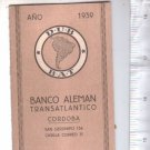 German Transatlantic Bank in Argentina 1939 Almanac