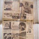 Evita Eva Peron Democracia Newspaper Suplement c1950 #2
