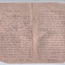 Argentina Letter Family Issues 1931 Correspondence