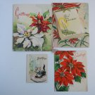 Argentina New Year Vintage Greetings Postcard LOT OF 4 POSTCARDS