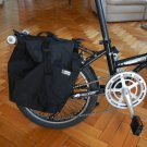 Folding Bicycle Biking Cycling Pack Bag Back Frame Rear Seat Pannier FOLDABLE