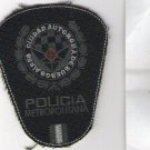 Argentina Metropolitan Police Low Visibility Shoulder Patch