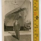 Del Sud Freighter Liner Cruise Ship Marine Shipping Vintage Photo