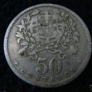 Portugal 50 Centavos 1929 Coin Coins EXCELLENT