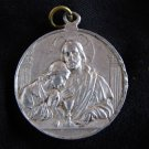 ANGELIC Jesus Christ 1st Comunion Holy Medal  VINTAGE