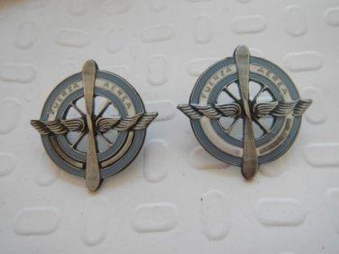 Argentine Air Force Major State Uniform Emblem Badge  LOT OF 2