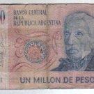 ARGENTINA 1000000 PESOS 1 Million Banknote Paper Money