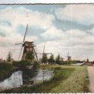 Holland Netherlands Pays Bas Dutch Widmill  Postcard VINTAGE