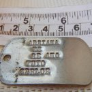 Argentina Navy Armada Dogtag Dog Tag Medal Badge WITH LOVE MESSAGE RARITY