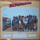 Argentina 1943 Gaucho Poster Almanac Printed Art