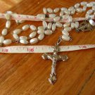 Jesus Christ Virgin  Holy Cross Crucifix  Beads Rosary ANGELIC 2