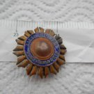 Argentina  Army General  Lamadrid Military Academy Badge Emblem OLD