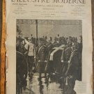 L Illustre Moderne French Hebdomadaire 1899 Newspaper 8 pages Nr45