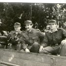 Argentina Dictatorship Times Army German Style Soldiers Drinking Mate  Photo
