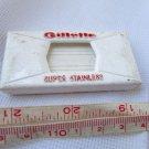 GILLETTE Safety Razor Blades Holster Box Disposal