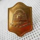 Argentina Patagonia Chubut  Province Police Hat Badge  VINTAGE #2