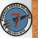 Chile Air Force 5th Group Fighting Team  Shoulder Patch