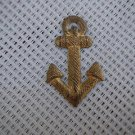 Argentina Navy Anchor Epaulette Emblem Badge OLD