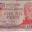 Argentina 10000 Pesos Bank Note Banknote Paper Money