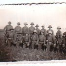 Argentina Army WW2 German Like Officers & Rifles Photo