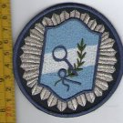 Argentina Federal Police Forensic Investigations CSI  Shoulder Patch Obsolete