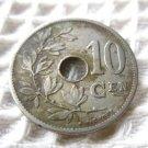 Belgium Belgie Belgique 10 cents 1905 COIN EXCELLENT