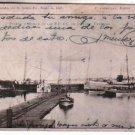 Argentina Santa Fe Port 1903 Ship Sailboat Postcard