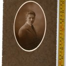 Antique Argentina Boy Young  Man  Cabinet  Photo DEDICATED