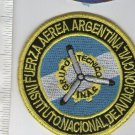 Argentina Air Force INAC Civilian Aviaiton Authority Patch