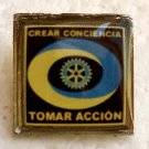 Argentina Rotary Create Concience Take Action Club  Pin
