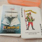 Carnival  Cruises Lines Souvenir Playing Cards Deck EXCELLENT