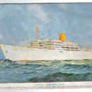 VINTAGE Amazon Royal Mail Lines Cruise Ad Postcard ORIG