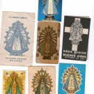 Argentina Virgin Mary of Lujan Holy Card  7 CARDS   VINTAGE