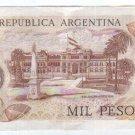Argentina 1000 Pesos Bank Note Paper Money UNCIRCULATED