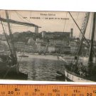 Cannes France Port & Suquet Saliboats Ships Postcard