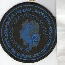 Argentina Federal Police Precincts Bureau Low Vis Blue Patch