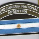 Argentina Gendarmeria Gendarmerie Border Police National Flag Shoulder Patch