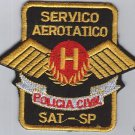 Brasil Brazil Sao Paulo Police Aviation Patch Patches
