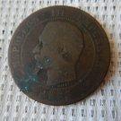 France  Centimes Napoleon Coin L@@k