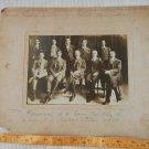 VINTAGE People Bank Crew Gentlemen Man gentleman Argentina 1919  Cabinet  Photo