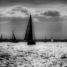 "Seascape Sailboat PHOTOGRAPH  Photo 8X10"" & BIGGER"