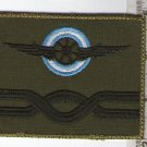 Argentina Air Force Engineer Rank Subdued Patch #2